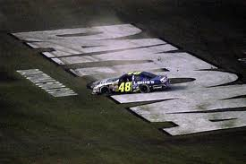 With his victory in 2006, Jimmie Johnson has avoided the question that dogged Dale Earnhardt and Darrell Waltrip, and now haunts Tony Stewart; Will you ever win the big one?