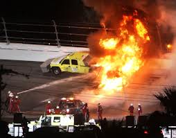 Perhaps the most surreal moment in Daytona 500 history