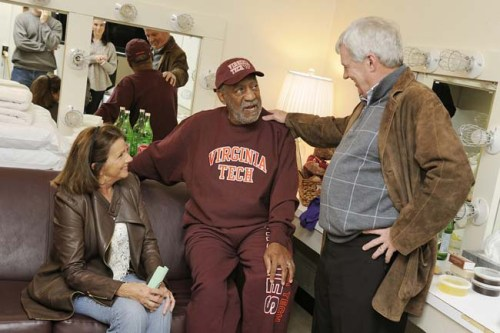 Michael Vick, Marcus Vick, DeAngelo Hall, now Bill Cosby? Might be getting what's coming to ya, Hokies.